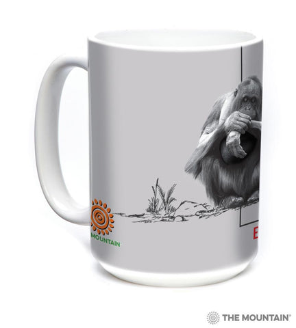 5570 Deforestation Orangutan Mug