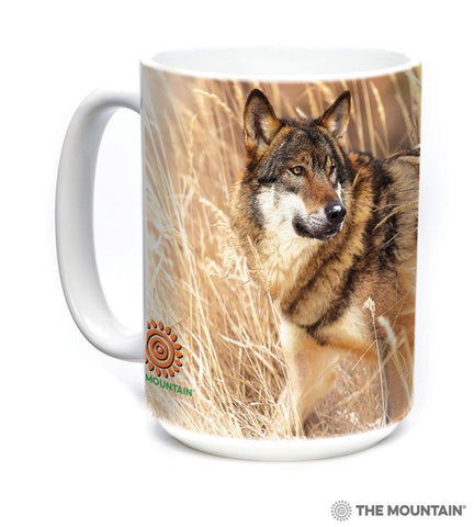 575891 Winter Wolf Portrait Mug