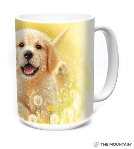 575933 Golden Puppy Mug