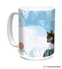 575938 Wolf Couple Sunset Mug