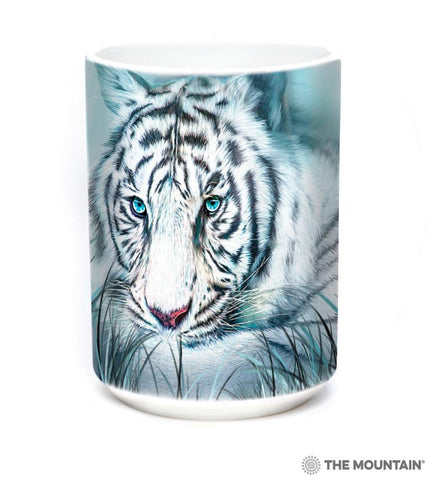 575964 Thoughtful White Tiger Mug