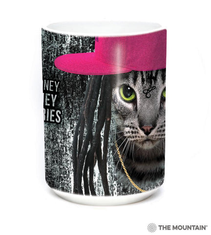 575966 Cat Money Billionaires Mug
