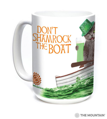 576133 Don't Shamrock The Boat Mug