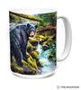 576164 Black Bear Forest Mug