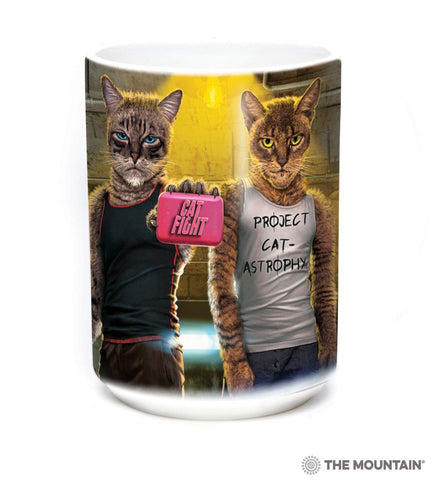 576271 Cat Fight Mug