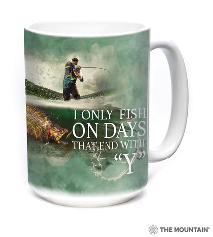576312 Fish Every Day Mug