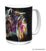 576323 Painted Lion Mug