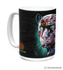 576324 Painted Jaguar Mug