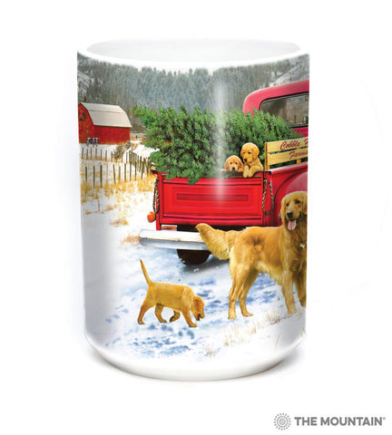 576388 Tree Farm Pups Mug