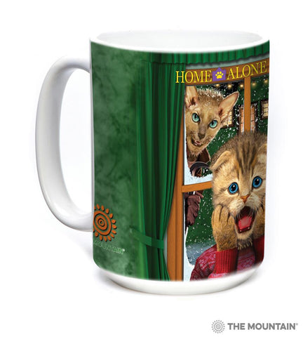 576396 Home Alone Kitten Mug