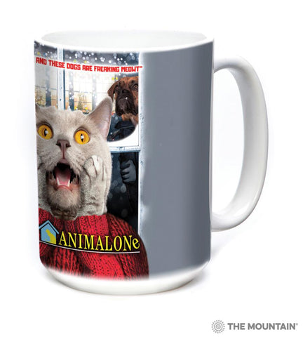 576397 Home Alone Cat Mug