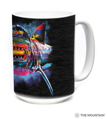 6492 Painted Shark Mug