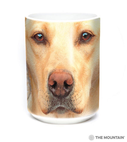 578146 Yellow Lab Portrait Mug