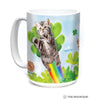 578451 Green Irish Fairy Kitten Mug