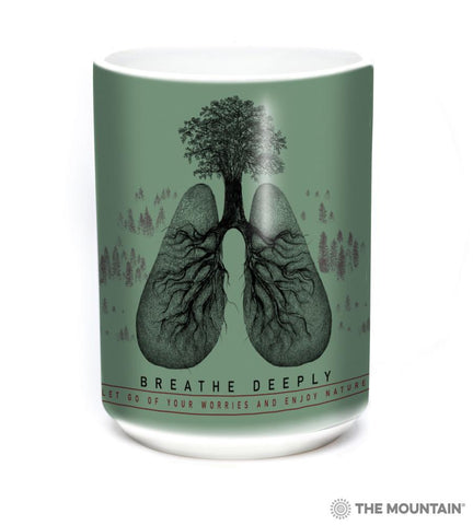 8728 Breathe Deeply Mug