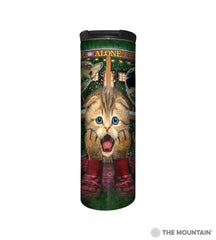596396 Home Alone Kitten Barista Tumbler