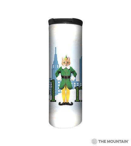 596400 Elf Cat Barista Tumbler