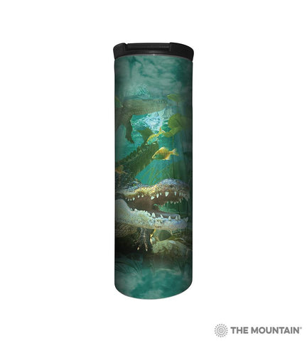 6456 Alligator Swim Barista Tumbler