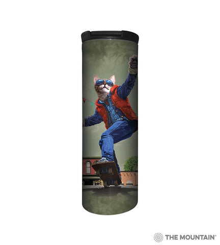 6467 Cat to the Future Barista Tumbler