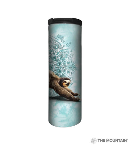 64810366 Three Legged Downward Sloth Barista Tumbler