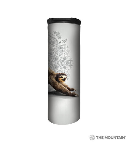 64810748 Three Legged Downward Sloth Barista Tumbler