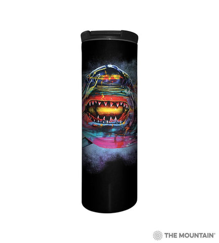 6492 Painted Shark Barista Tumbler