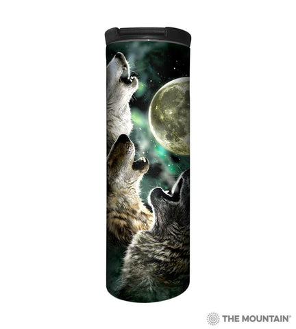 592053 Three Wolf Moon Barista Tumbler