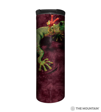 593119 Peace Out Gecko Barista Tumbler
