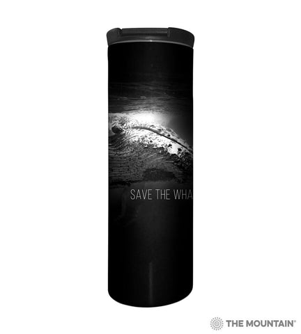 595981 Save the Whales Barista Tumbler