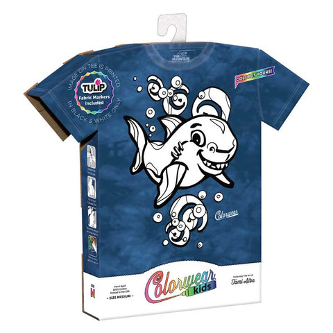 64AA274 Colorwear Kids Shark