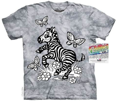 64AA275 Colorwear Kids Zebra