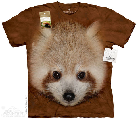 Print to Order - Big Face Baby Red Panda
