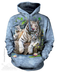 724135 White Tigers of Bengal Hoodie