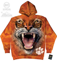 CUT 725200 BIG FACE CLEMSON TIGER