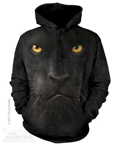 723246 Black Panther Face Hoodie