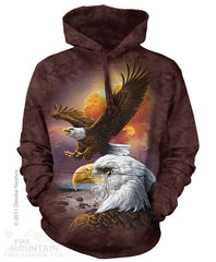 Eagle and Clouds Hoodie