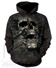 726247 Breakthrough Skull Hoodie