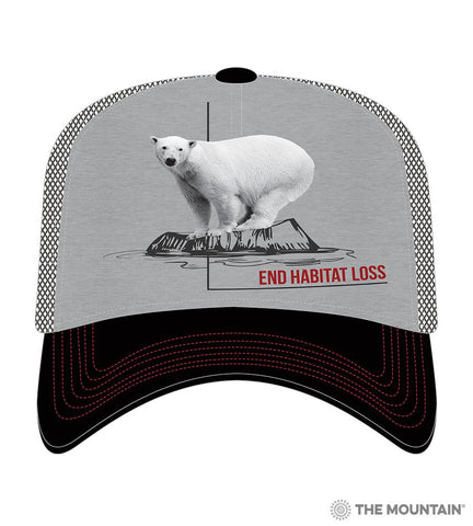 5573 Habitat Polar Bear Trucker Hat