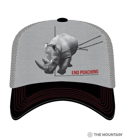 5575 Poaching Rhino Trucker Hat