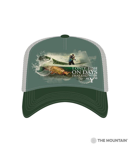 6312 Fish Every Day Trucker Hat