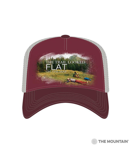 6316 Steep Hiking Trucker Hat