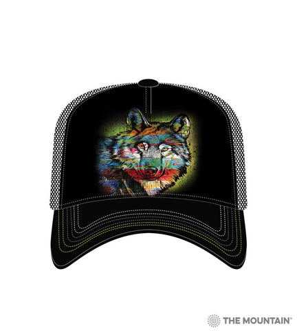 6320 Painted Wolf Trucker Hat