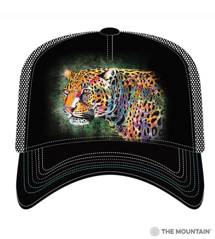 6321 Painted Cheetah Trucker Hat