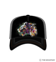 6323 Painted Lion Trucker Hat