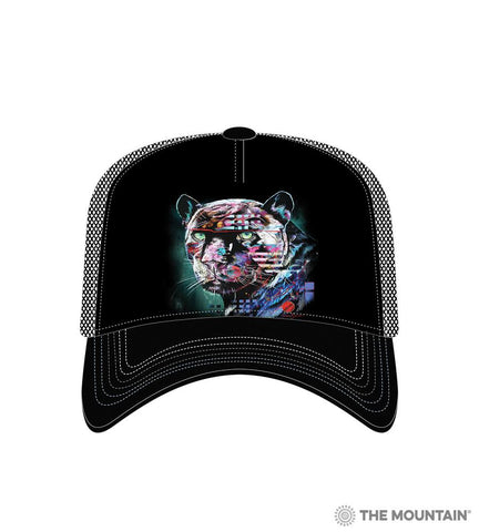 6324 Painted Jaguar Trucker Hat