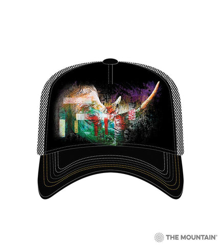 6325 Painted Rhino Trucker Hat