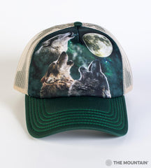 2053 Three Wolf Moon Trucker Hat