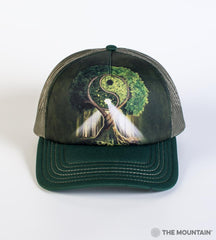 3209 Yin Yang Tree Trucker Hat