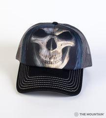 3652 Big Face Death Trucker Hat