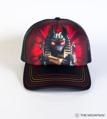 3892 Anubis Soldier Trucker Hat